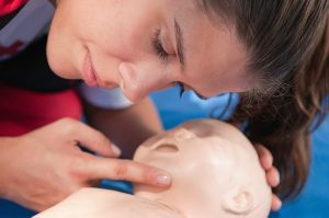 Infant CPR certification