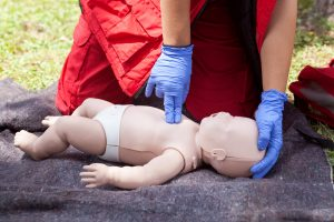 cpr for infants and babies